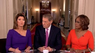"""""""CBS This Morning"""" co-hosts talk about their special interviews inside the Trump White House"""