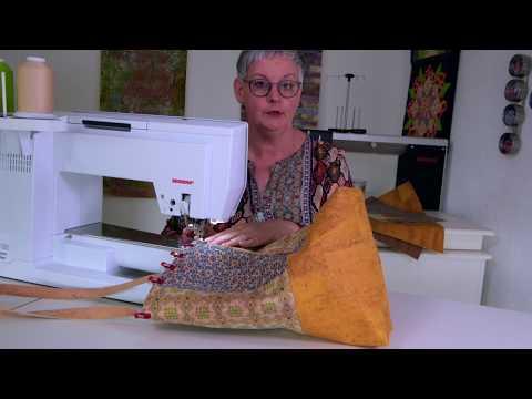 Anleitung zum Selbernähen einer Tasche aus Kork, Korkstoff oder Korkleder (CreativCoach 3)