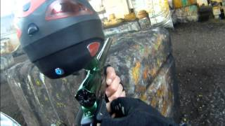 preview picture of video 'Paintball in Oschatz (Fliegerhorst)'