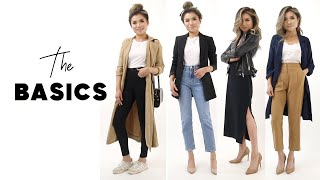 CLOSET ESSENTIALS Every Woman Should Own | How to build your wardrobe from Basics | Miss Louie