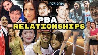 Mga PBA Players na NAGKARELASYON sa mga Artista at Celebrity (1975-2019)