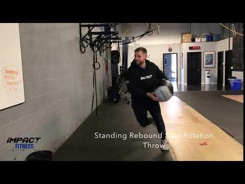 Standing Rebound Side Rotation Throw