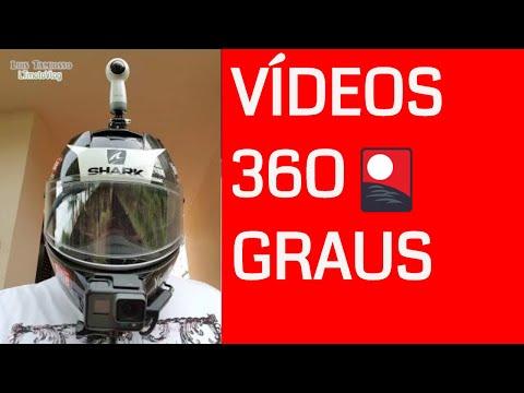 Gear 360: vídeos de motovlog 360 graus #360º #360deegres #gear #samsung