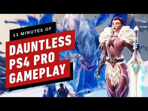11 Minutes of Dauntless PS4 Pro Gameplay de Dauntless