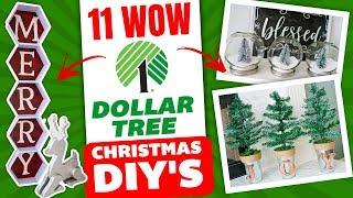 11 Dollar Tree WOW Christmas DIYs 🎄 Christmas Decorating Ideas