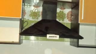 Кухня  фото № 62 алюминиевом профиле цвет оранжевый - зебрано. от компании Фаберме - видео