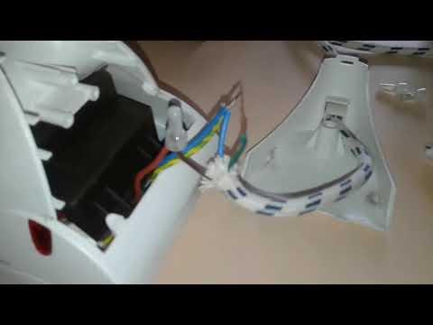 Cambio cable de plancha