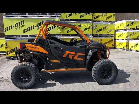 2020 Can-Am Maverick Sport X RC 1000R in Tyrone, Pennsylvania - Video 1
