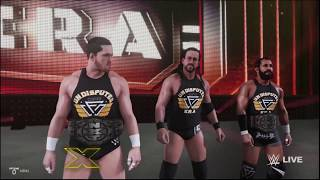WWE 2K19 Undisputed Era Entrance Video! (Adam Cole, Bobby Fish & Kyle O'Reilly)