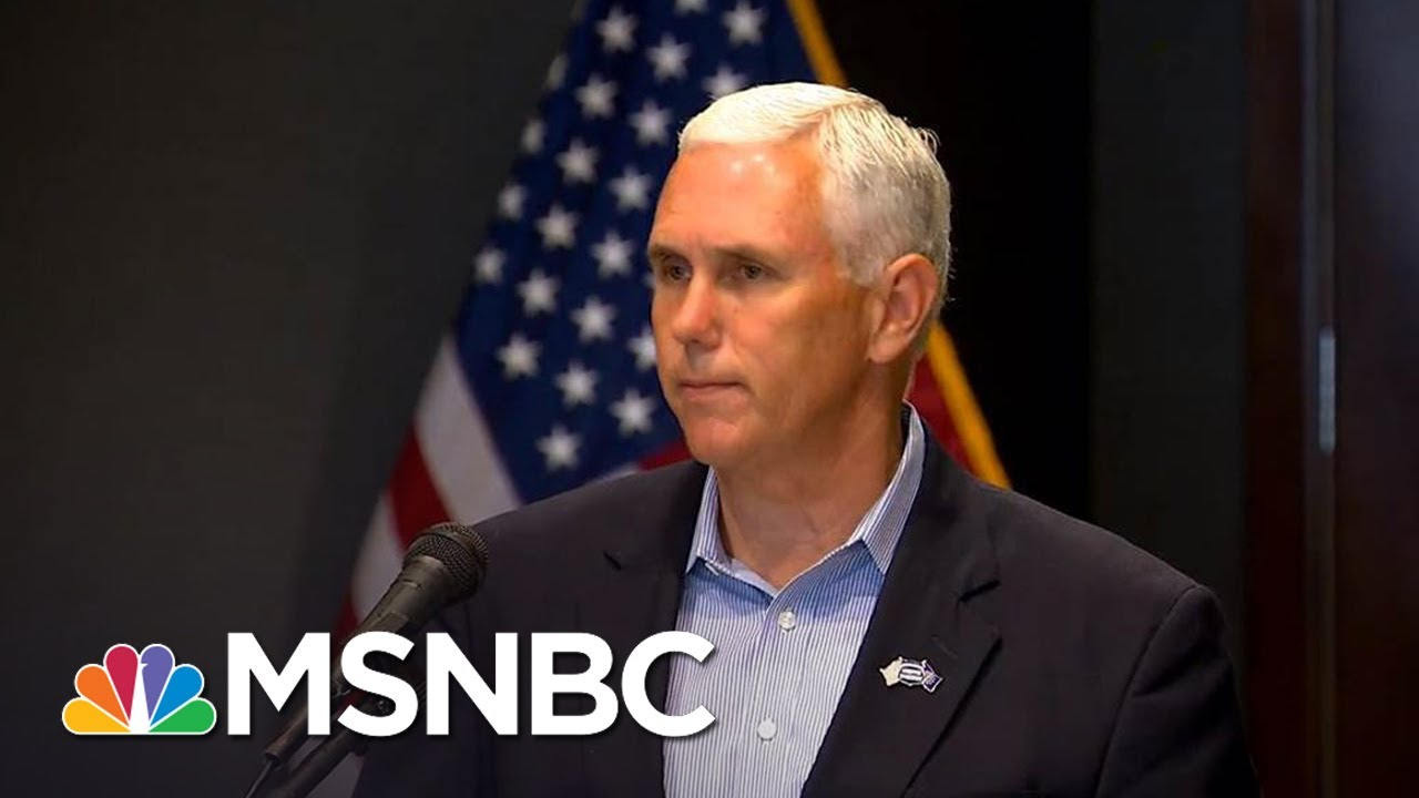 Mike Pence Lawyers Up As Donald Trump Reportedly Obsesses Over Russia Probe   The 11th Hour   MSNBC thumbnail