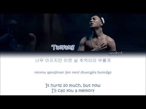 TAEYANG (태양) – Eyes, Nose, Lips (눈, 코, 입) (Color Coded Han Rom Eng Lyrics)