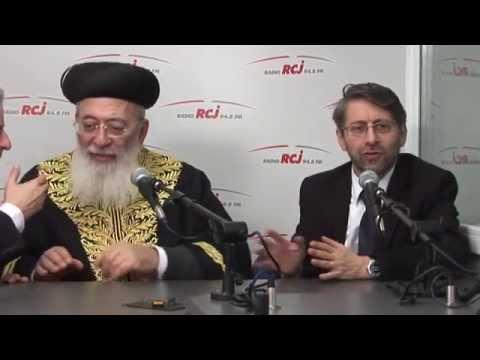 Les Grands Rabbins Shlomo Amar et Haïm Korsia sur RCJ
