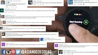Samsung Galaxy Watch - We answer your Questions!