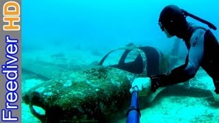 Airplane Wreck - Freediving Philippines