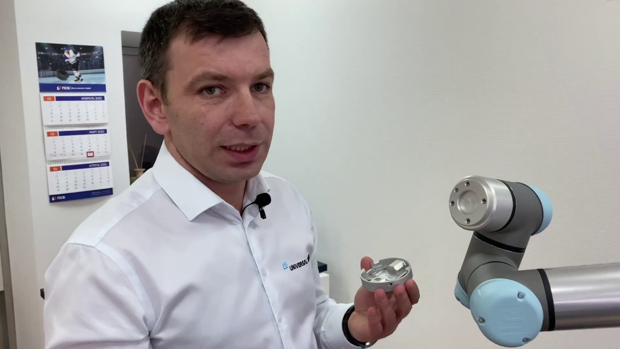 Обзор захвата Gecko Single Pad SP от OnRobot для Universal Robots