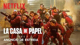 'La Casa de Papel' terá última temporada dividida em dois lançamentos