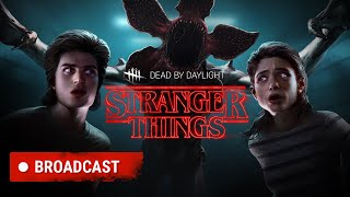 The Dead by Daylight team presents the new Chapter: Stranger Things. Here's a first glimpse of the gameplay, new Perks, and new Killer Power. Available September 2019.  The Demogorgon, Nancy and Steve join the Dead by Daylight roster!   The Dead by Daylight team is proud to present the brand-new Chapter for Dead by Daylight: Stranger Things.  The Entity descends on the Midwestern town of Hawkins as Stranger Things, the critically acclaimed Netflix Original Series enters the realm of Dead by Daylight.    The Chapter introduces a new Killer and two new Survivors to the realm of The Entity: the monstrous, otherworldly Demogorgon is the new untamable Killer. Against it stands not one, but two, new Survivors: Nancy Wheeler, a tough aspiring journalist, and Steve Harrington, a former high school jock with a knack for finding trouble.    The Stranger Things Chapter comes with a new map, the Underground Complex. Located below the Hawkins National Laboratory, this grim compound caused an inter-dimensional rift that released dozens of creatures before being sealed off.  The Stranger Things Chapter launches in September on PC and consoles.  Join the official forum: https://forum.deadbydaylight.com/en/  Like us on Facebook: https://www.facebook.com/DeadByDaylight/  Follow us on Twitter: https://twitter.com/deadbybhvr Follow us on Instagram: https://www.instagram.com/deadbydayli...  #deadbydaylight