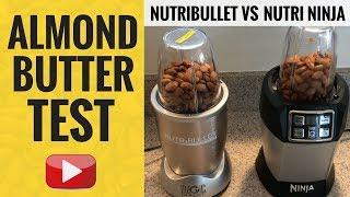 How to make banana ice cream using a nutribullet most popular videos nutribullet vs nutri ninja almond butter test fandeluxe Image collections