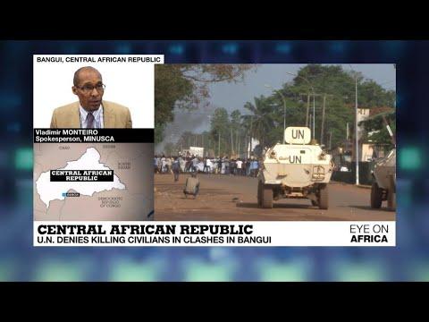 UN denies killing civilians in Central African Republic
