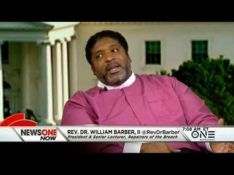 Rev. William Barber, Members Of The Clergy Mobilize Against Republican-Led Voter Suppression Efforts