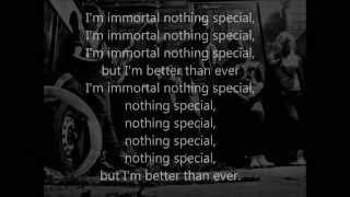 The Unknown- Immortal (Lyric Video)