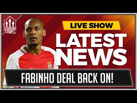 FABINHO TO MAN UNITED BACK ON! LATEST TRANSFER NEWS