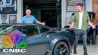 Josh Duhamel And Jay Leno Drive A 1963 Corvette Sting Ray   CNBC Prime