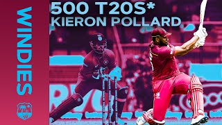 500 T20s and Counting! | Kieron Pollard Stats Video | Windies Cricket