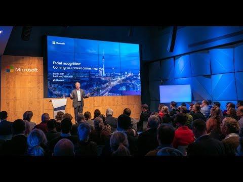 Keynote Brad Smith, Microsoft-Präsident und Chefjustiziar