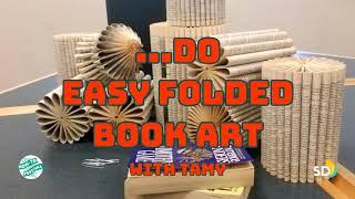 How To Do Easy Folded Book Art