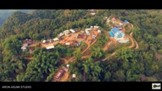Satakha Village    Zunheboto    Nagaland    North East    Aerial View    DJI Phantom 4    2021