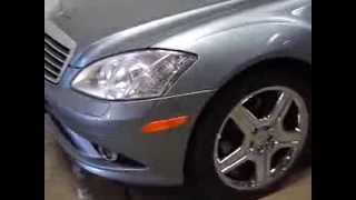 2007 Mercedes Benz S550 AMG Package Sedan