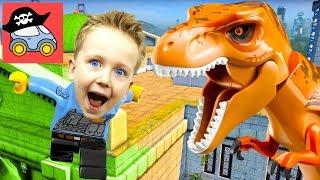 🚓 Lego City Undercover #20 ГИГАНТСКИЙ ДИНОЗАВР в Лего Сити ГТА Прохождение игры Жестянка СТРИМ