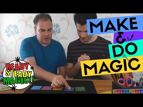 Snakes and Ladders | Make & Do Magic | Ready Steady Magic