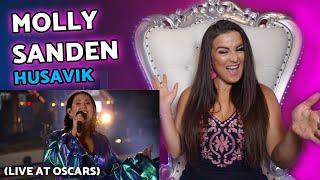 Vocal Coach Reacts to Molly Sanden - Husavik (Live at Oscars)