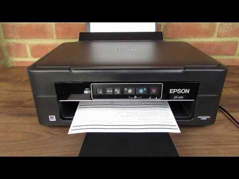 Epson XP-245 Wifi WPS Setup