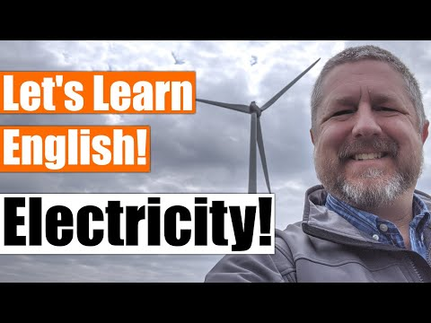 An English Lesson about Electricity! Learn English Vocabulary about Electricity!
