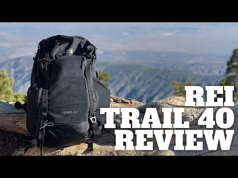 REI Trail 40 Hiking Daypack In-Depth Review – HikingGuy.com