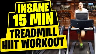 15 Minute Treadmill HIIT Workout