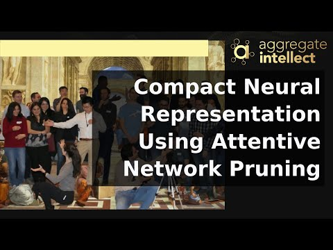 Compact Neural Representation Using Attentive Network Pruning