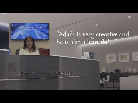 """""""Adam is very creative and he is also a 'can do'."""" testimonial video thumbnail"""