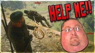 ANGRY MEN JUMP ME 6v1 But Get HUMILIATED! (Red Dead Online Trolling)