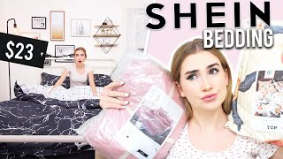 TRYING BEDDING FROM SHEIN.. Is it good quality ?!!