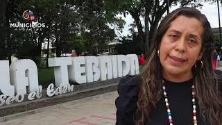 TV MUNICIPIOS – EN LA TEBAIDA – QUINDÍO SE REALIZAN CHARLAS EN PRO A LA SEGURIDAD VIAL