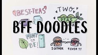 10 Best Friend Doodle Cards  (Puns and more!)   Doodles by Sarah