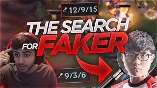 Yassuo | THE SEARCH FOR FAKER IN NA SOLO QUEUE