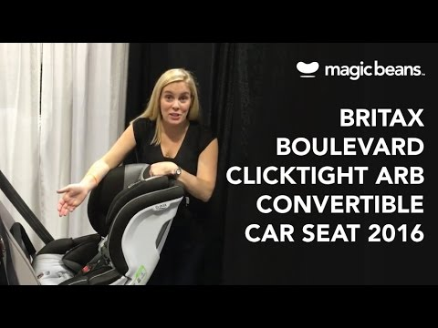 Britax Boulevard Clicktight ARB Convertible Car Seat 2016 | Most Popular | Reviews