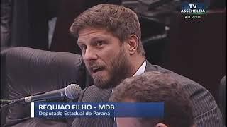 Requião Filho critica pressa para aprovação de projeto que altera Reforma Administrativa, recém sanc
