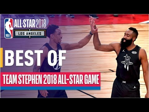 BEST PLAYS from Team Stephen | 2018 NBA All-Star Game