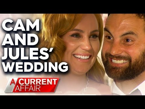 MAFS' Cam and Jules marry in emotional wedding ceremony | A Current Affair